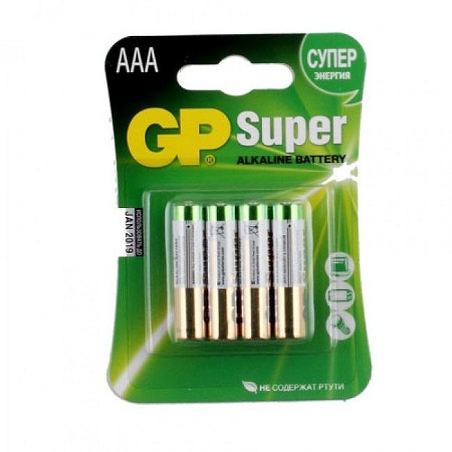 Батарейка GP LR03 Super 4*BL - картинка
