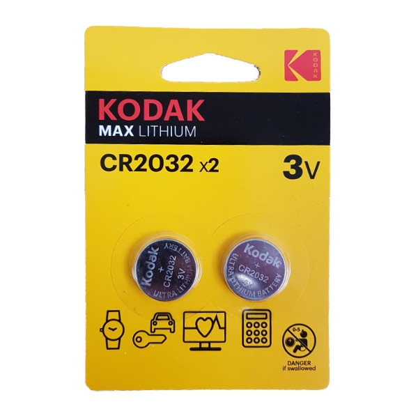 Батарейка Kodak литий CR2032 2*BL - картинка