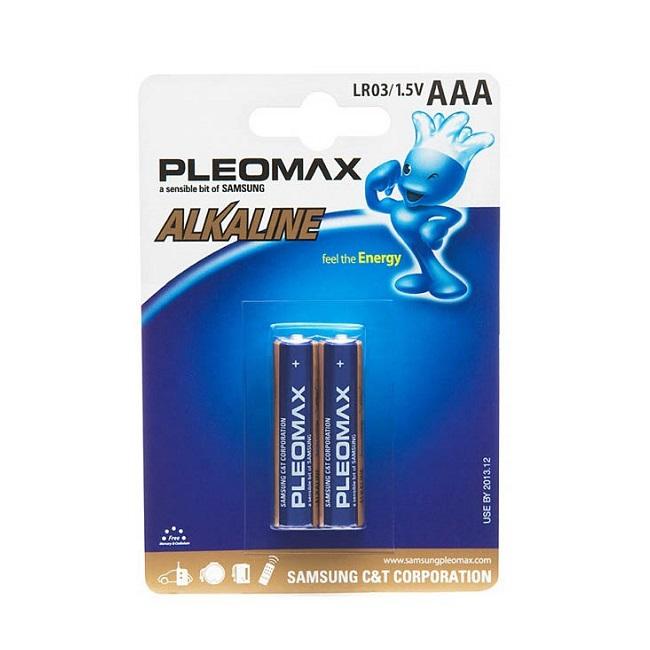 Батарейка Samsung Pleomax LR03 2*BL - картинка