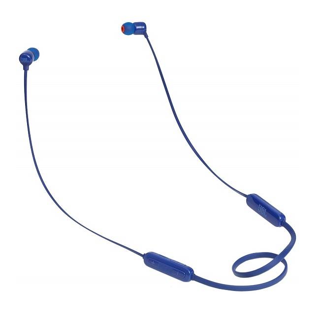 Наушники беспроводные JBL T110 BT Blue - картинка