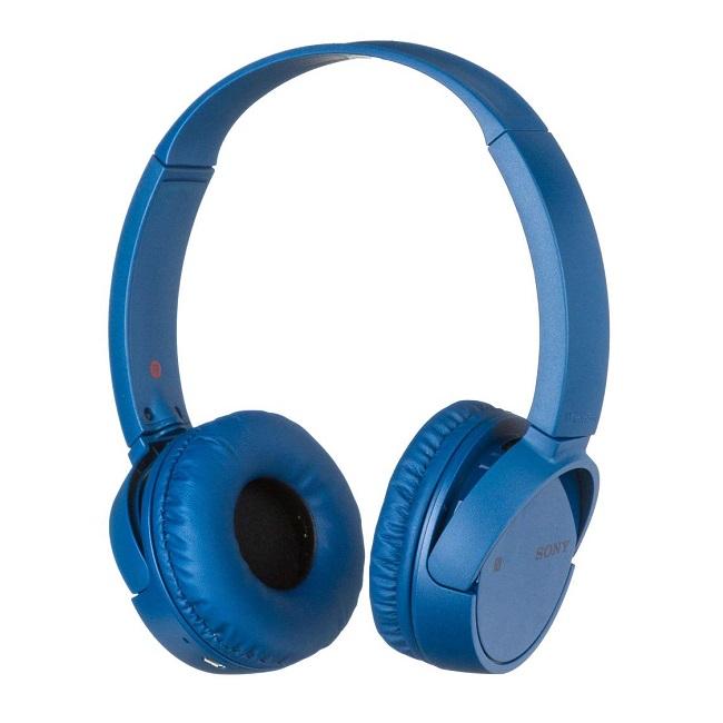 Наушники беспроводные Sony WH-CH500 Blue - картинка