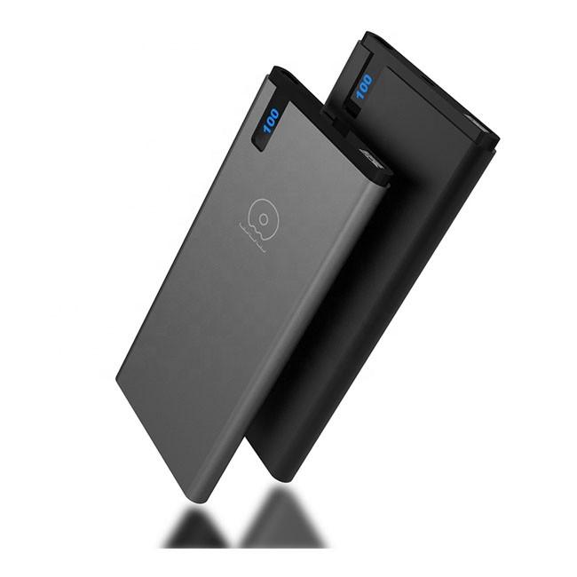 Внешний аккумулятор WUW-U26 Power bank 10000 mAh(6535) - картинка