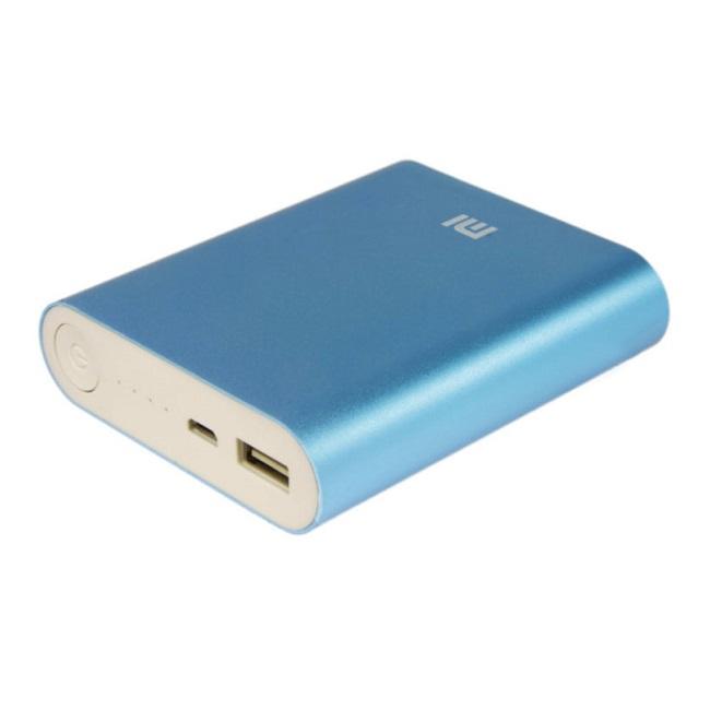 Внешний аккумулятор Xiaomi Power Bank 10400mAh синий - картинка