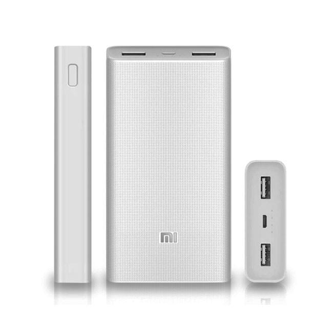 Внешний аккумулятор Xiaomi Power bank 2C 20000 mAh White(7301) - картинка