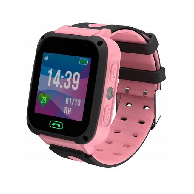Смарт часы детские Jet Kid Connect розовый, черный - картинка