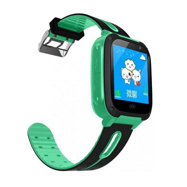 Смарт-часы детские Smart Baby Watch  S4 зеленые - картинка