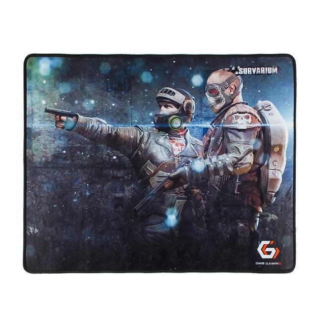 "Коврик для мыши Gembird MP-GAME25, рисунок- ""Survarium"", размеры 437*350*3мм, ткань+резина, оверлок - картинка"