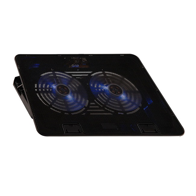 "Подставка для ноутбука охлажд. Buro BU-LCP156-B214 15.6"" 358x270x21мм 1xUSB black - картинка"