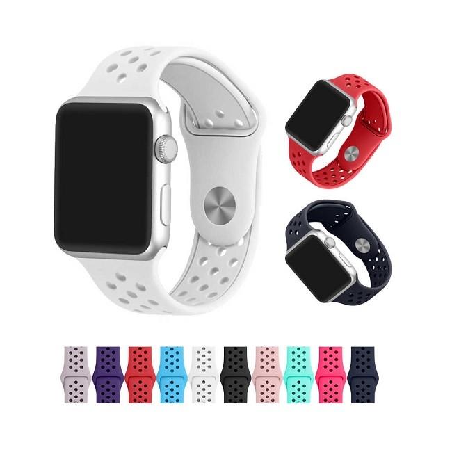 Ремешок для Apple Watch Nike 38mm силикон в ассортименте - картинка