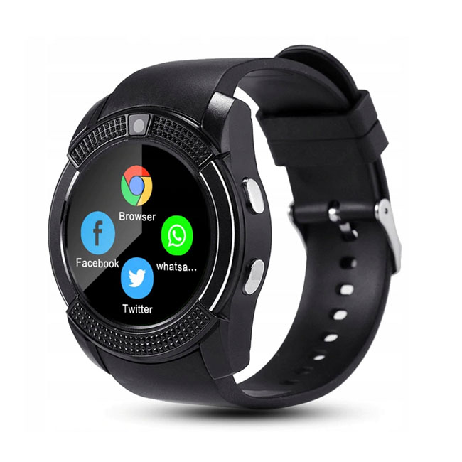 Смарт-часы  Smart UWatch V8 Lemon Tree цвет дисп - картинка