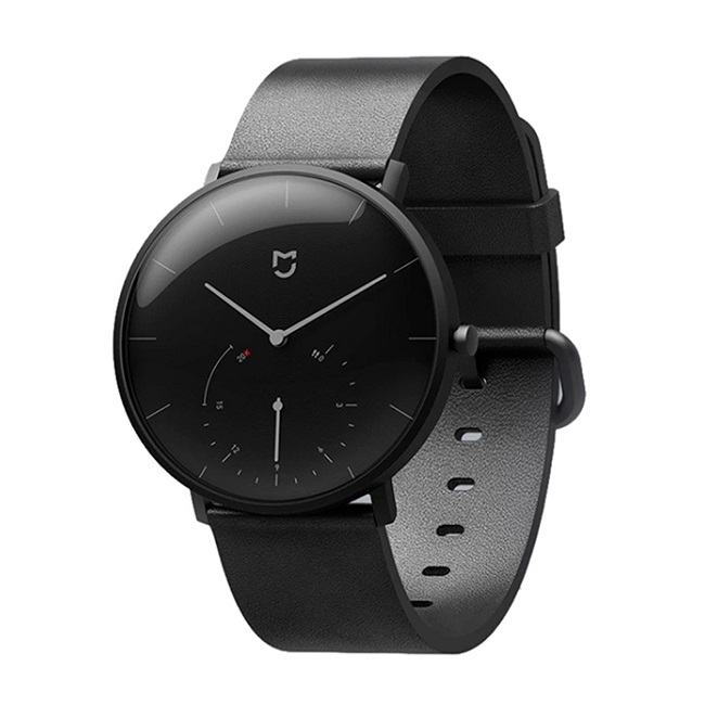 Смарт-часы Xiaomi Mijia Quartz Watch серый, монохр дисп - картинка