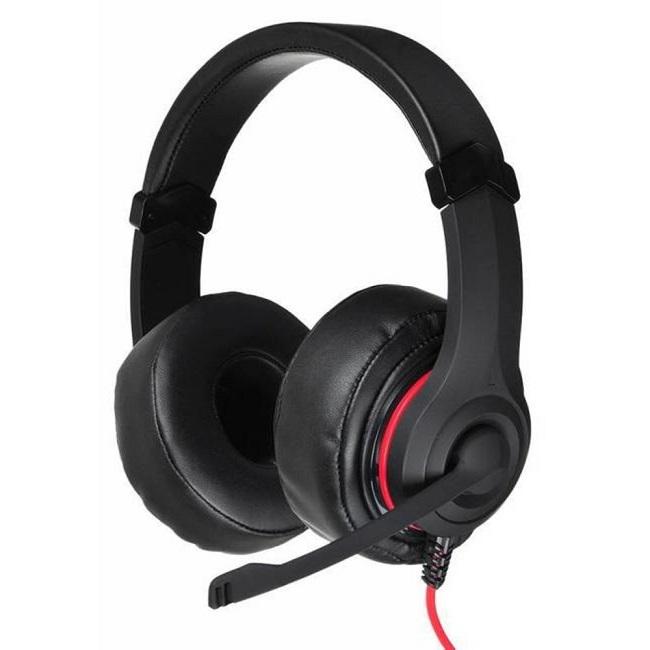Наушники с микрофоном Oklick HS-L330G NIGHTMARE черный 2.2м мониторы (N-6) - картинка