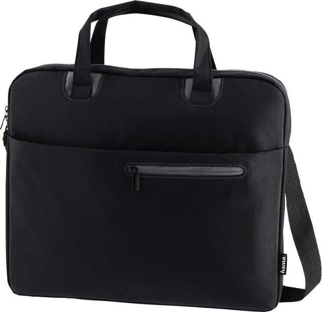 """Сумка для ноутбука 15.6"""" Hama Sydney черный/серый полиэстер (00101932) - картинка"""