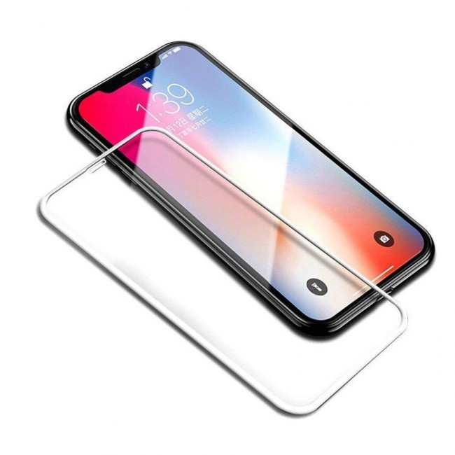 Защитное стекло 5D для iPhone 6 Plus (5.5) White Техпакет - картинка