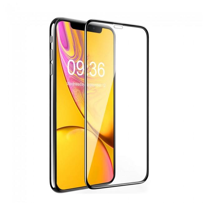 Защитное стекло 9D для Xiaomi Redmi Y3 Black техпакет - картинка