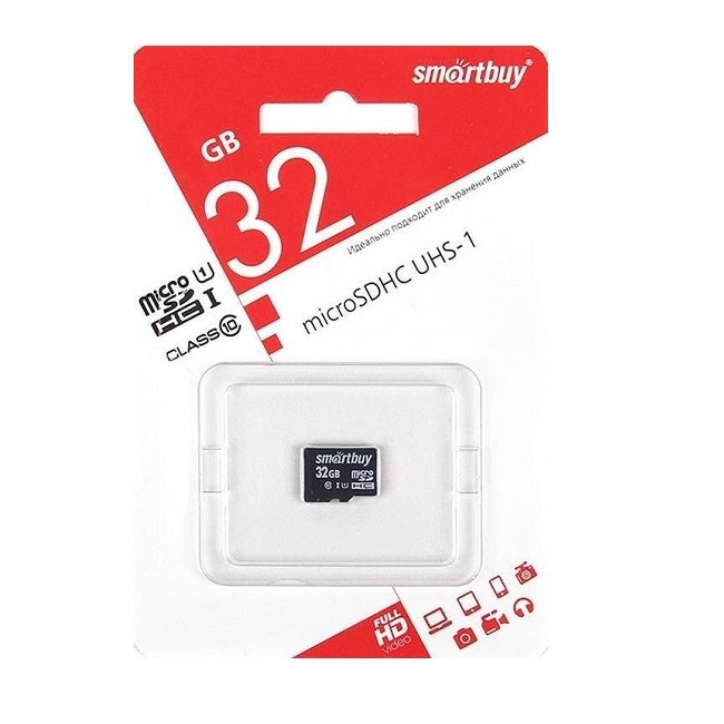 Карта Памяти Micro SD 32 GB Smart Buy Class 10(7006) - картинка