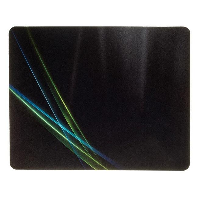 Коврик для мыши Oklick OK-F0250 рисунок/линии неоновые - картинка
