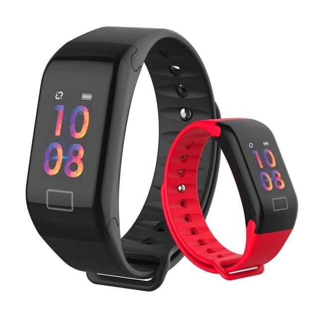 Фитнес-браслет Smart Technology ST.F1 Plus Цветн экран, давление, пульс - картинка