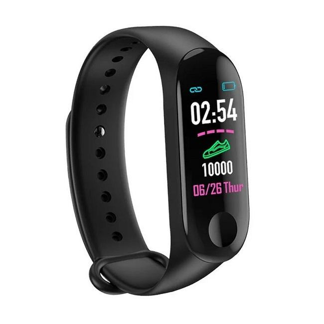 Фитнес-браслет Smart Technology ST/M3 Цветной экран,пульс, давление - картинка