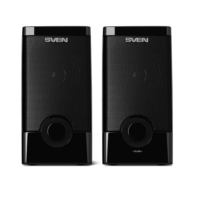 Колонки 2.0 Sven 318 RMS 5W, USB, чёрный - картинка